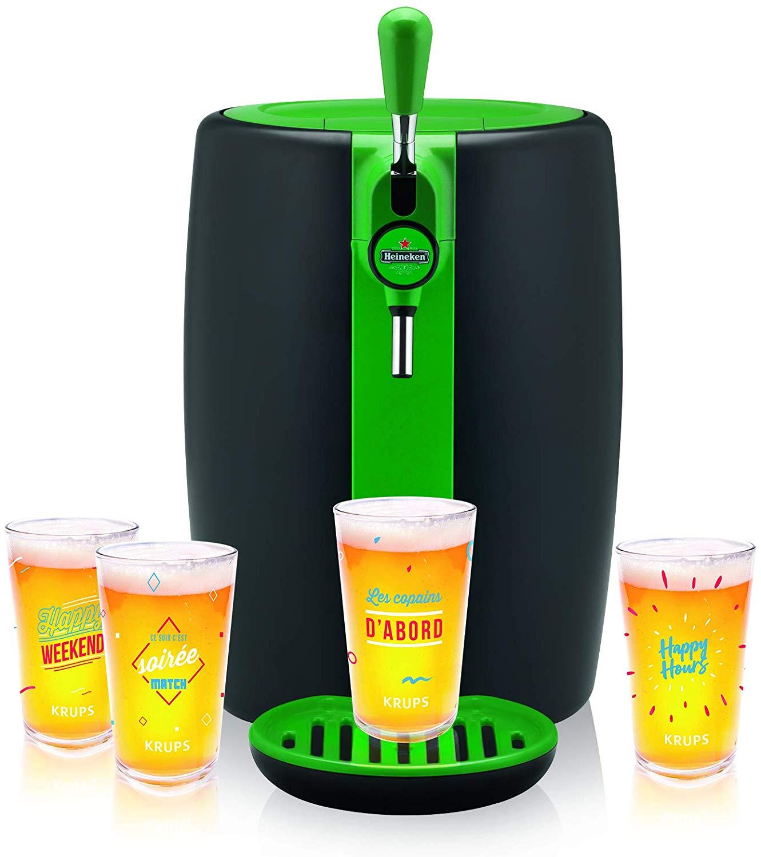SEB Machine à bière Beertender Verte Noire